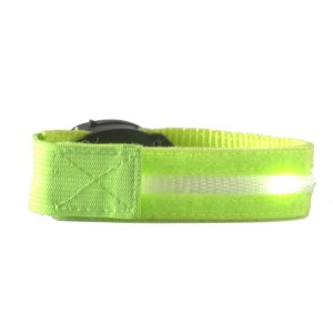 Glimmer Gear LED High Visibility Arm Band - Green