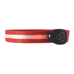 Glimmer Gear LED High Visibility Arm Band - Red