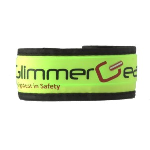 Glimmer Gear LED High Visibility Slap Band